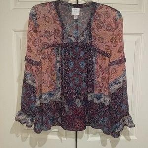 Knox Rose long sleeve blouse